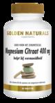 Golden Naturals Magnesium Citraat 400mg 60 tabl