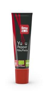 Lima Yuzupasta met Chilipeper