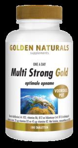 Golden Naturals Multi Strong Gold 180tabl