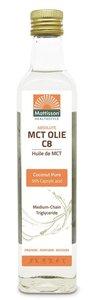 Mattisson Absolute MCT Olie C8  99% Caprylic Acid 250ml