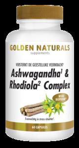 Golden Ashwagandha & Rhodiola Complex