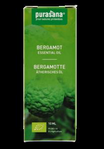 Bergamot BIO etherische olie Purasana 10ml
