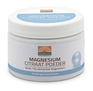 Mattisson Magnesium Citraat Poeder