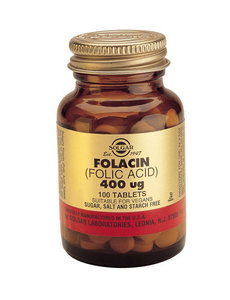 Folacin 400 µg (Foliumzuur)