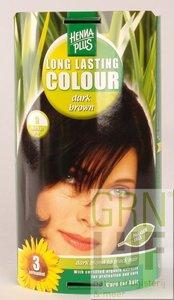 HennaPlus Long lasting colour 3 dark brown