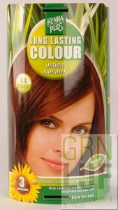 HennaPlus Long lasting colour 5.4 indian summer