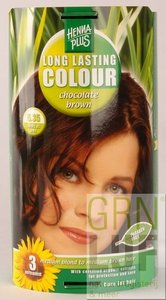 HennaPlus Long lasting colour 5.35 chocolate brown