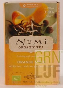 Numi WHITE ORANGE SPICE - MOONLIGHT SPICE™