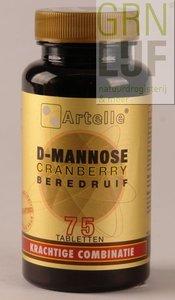 Artelle D-Mannose cranberry beredruif