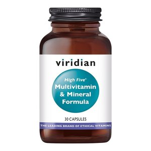 Viridian HIGH FIVE® Multivitamin & Mineral Formula