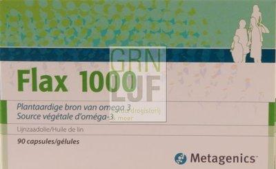 Metagenics Flax 1000 lijnzaadolie