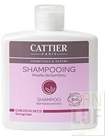 Cattier Shampoo Bamboe droog haar