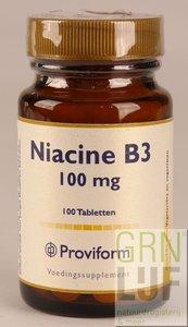 Proviform Vitamine B3 (niacine) 100mg