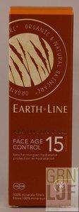 Earth-Line ARGAN BIO SUN FACE AGE CONTROL factor 15