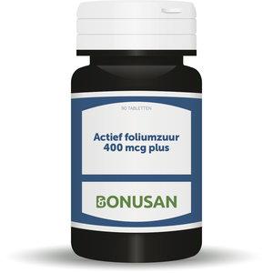 Bonusan Actief foliumzuur 400 mcg plus
