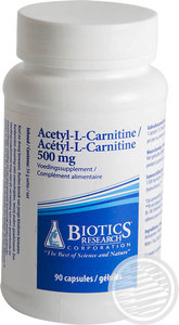 biotics ACETYL-L-CARNITINE (500mg)