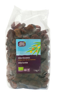 Ekoland Abrikozen gedroogd kilo