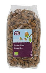 Ekoland Amandelen bruin kilo