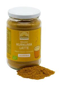 """Kurkuma Latte """"Goldenmilk"""" Reishi – Ceylon kaneel BIO Mattisson"""