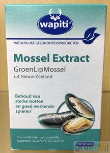 Wapiti Groenlipmossel extract