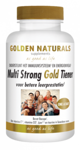 Golden Naturals Multi Strong Gold Tiener
