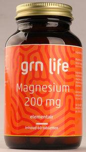 GRN LIFE Magnesium 200 mg citraat
