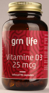 GRN LIFE Vitamine D3 1000IU=25mcg