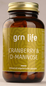 GRN LIFE Cranberry & D-Mannose