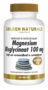 Golden Naturals Magnesium Bisglycinaat 100mg 180tabl