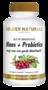 Golden Naturals Blaas + Probiotica 60 vegan capsules